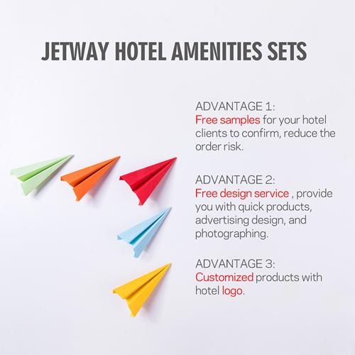 New Design Hotel Room Cosmetics Toiletries Amenities Set