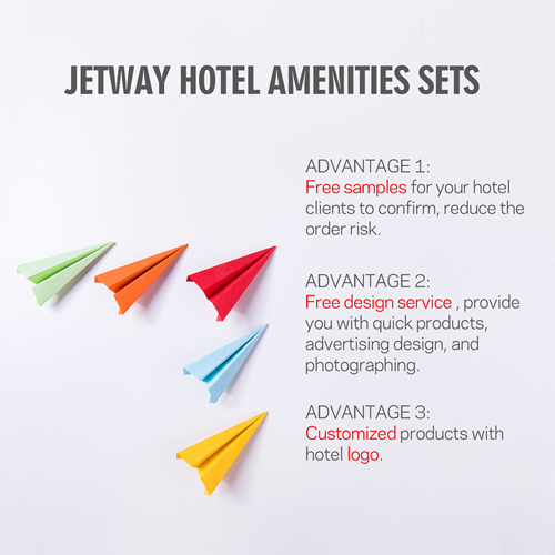 Brand Hotel Amenities Packed in Paper Box