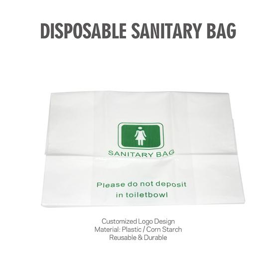 Bulk Sanitary Bag Hotel Customized Supply