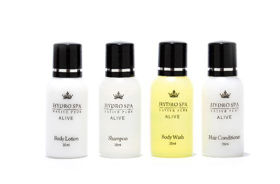 Hotel Toiletries Bottles