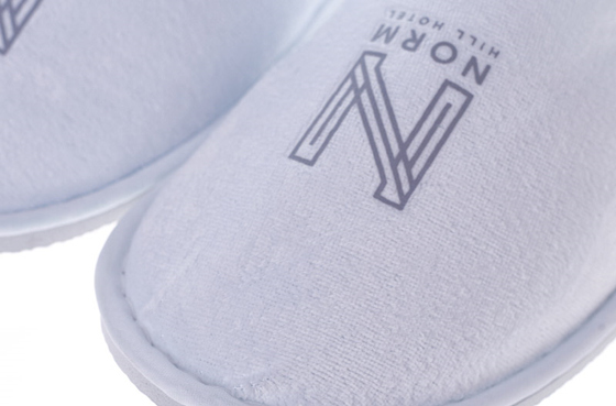 Private Logo Hotel Indoor Slipper