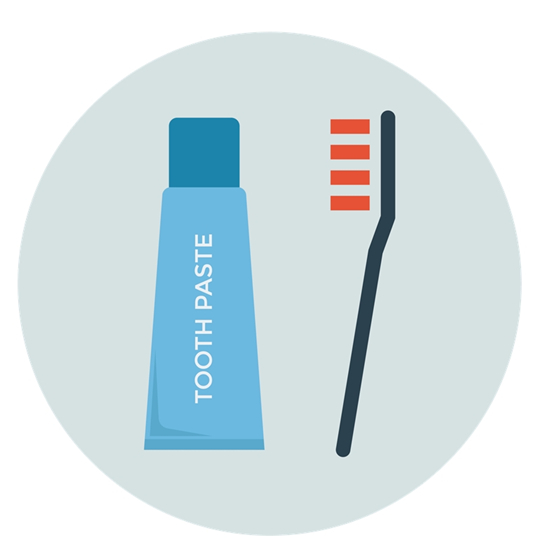 Luxury Hotel Supply Plastic Toothbrush