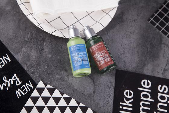 Hotel Bathroom Toiletries Amenities Bottles Packaging Set