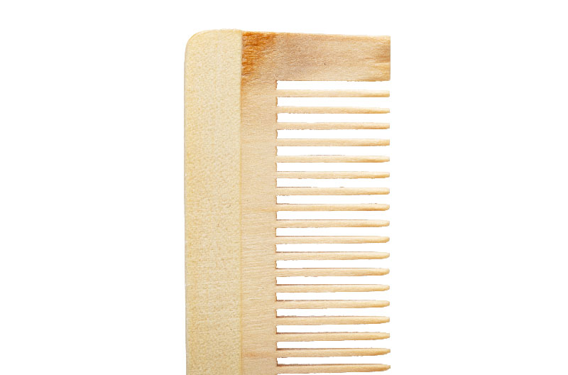 Natural Bamboo Comb Luxury Hotel Supply
