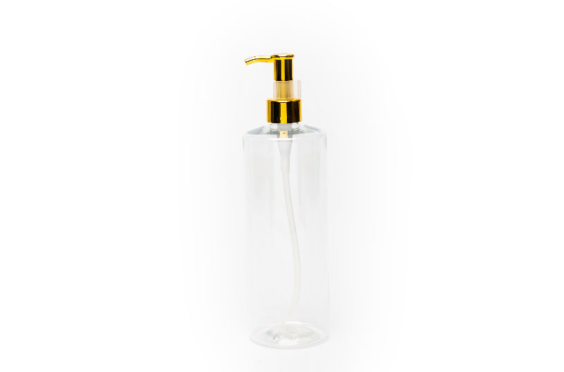 Transparent Bottle 300ML Container Pump Head For Hotel