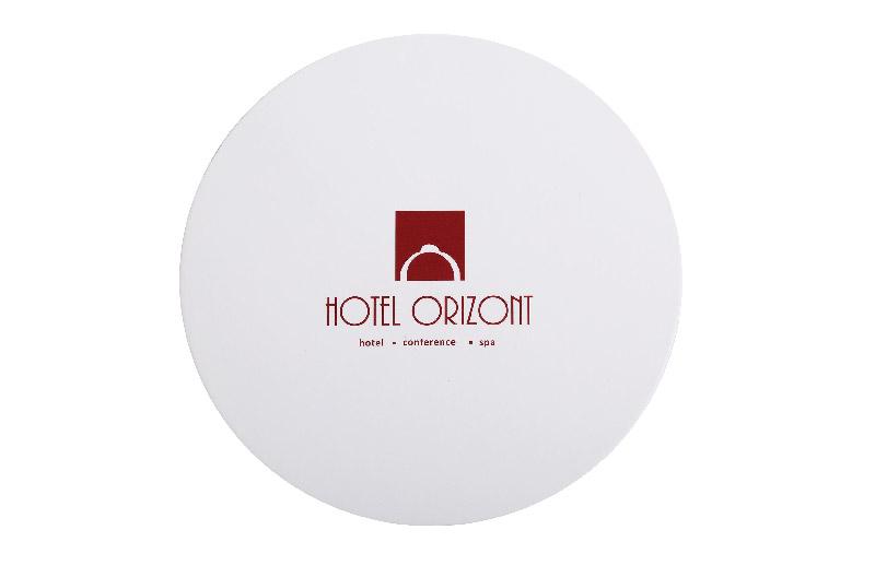 Brand Hotel Necessities Custom Coaster