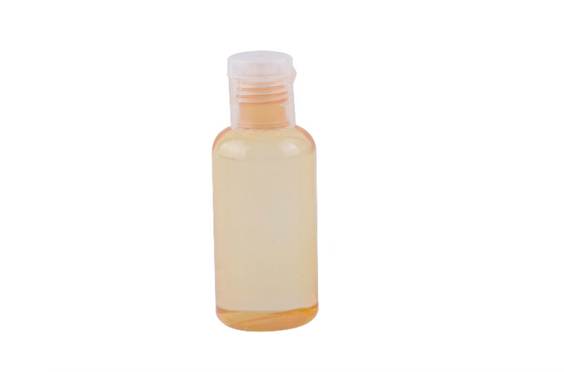 Transparent Bottle Hotel Shower Gel Container