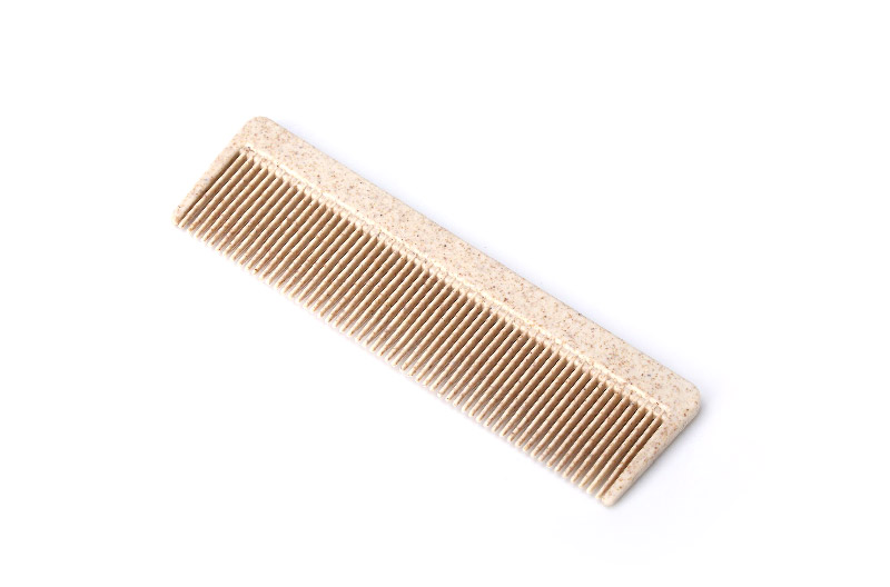 Disposable Wheat Straw Hotel Comb Guest Use