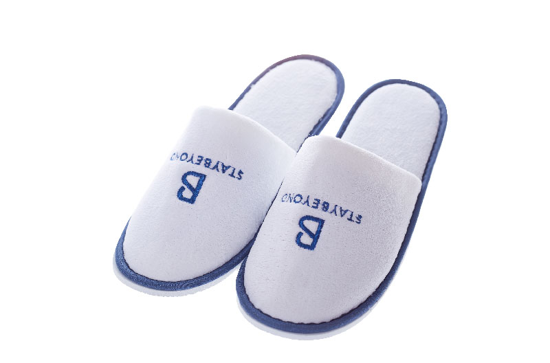 White Hotel Guest Slippers