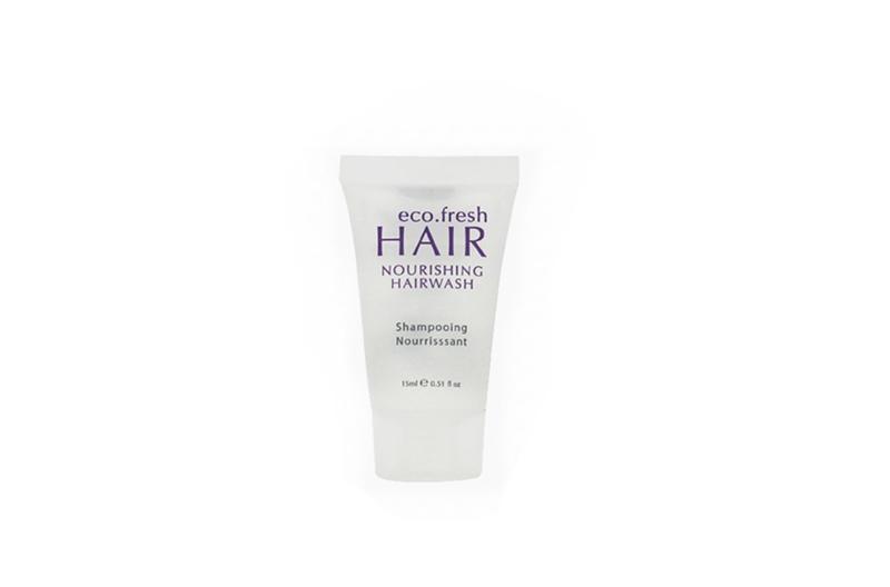 Mini 15ml hotel shampoo and conditioner