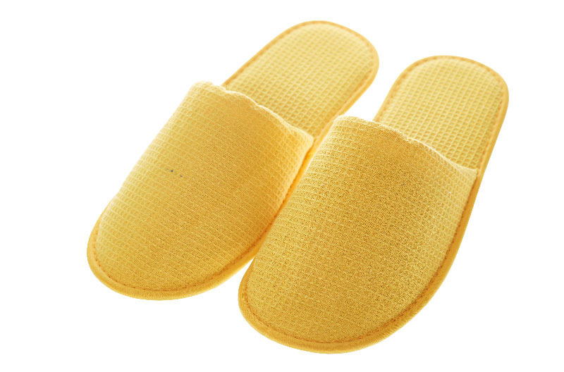 Yellow Hotel Bedroom Slippers