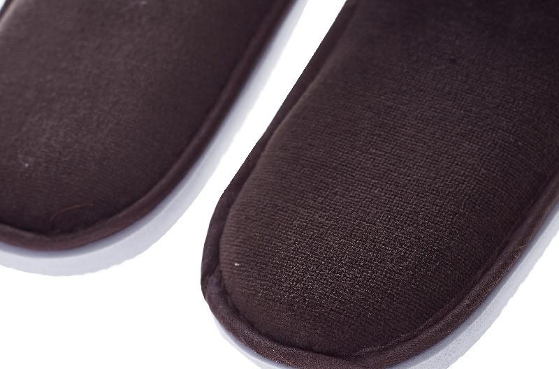 Black Hotel Disposable Slipper