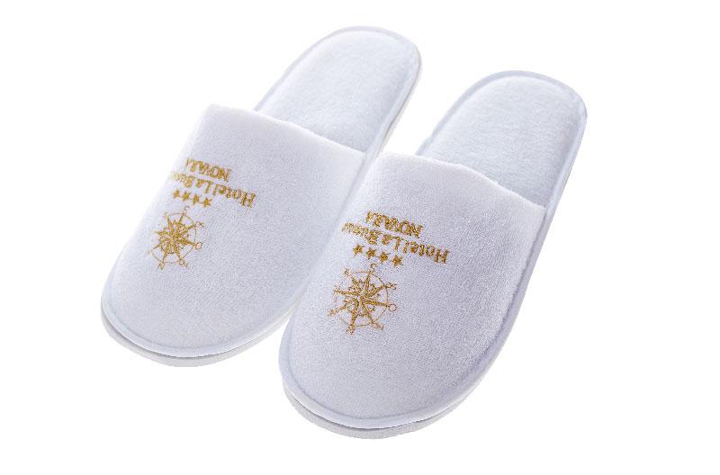 Customized Logo Luxury Hotel Slippers